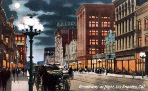 Broadway night