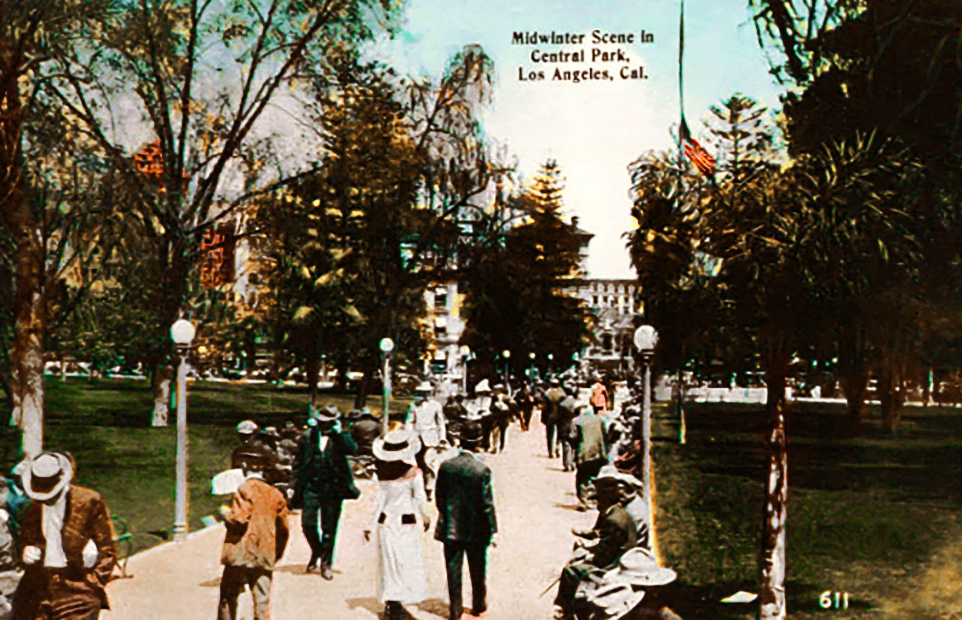 central park pershing square 1915