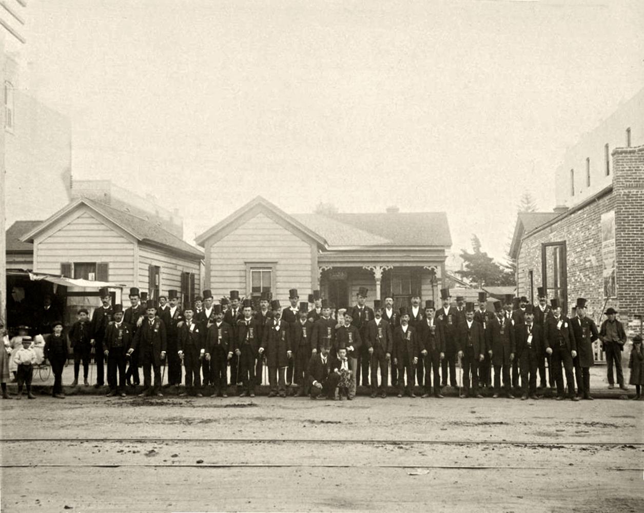 dapper gentlemen dtla 1890s