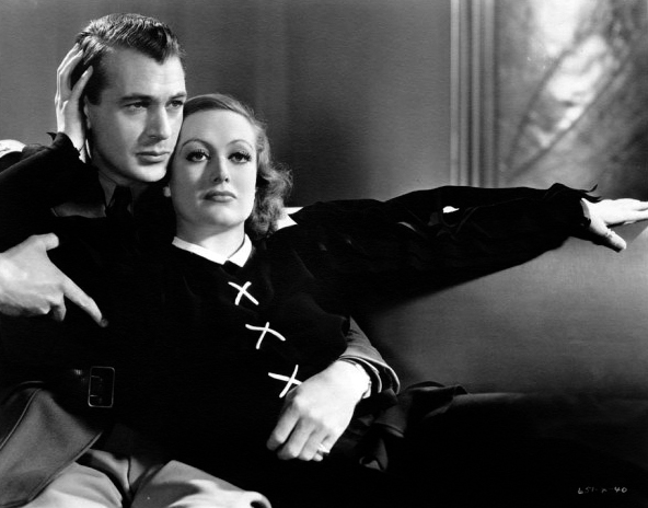 """Gary Cooper and Joan Crawford in """"Today We Live"""" (1933). Bizarre Los Angeles"""