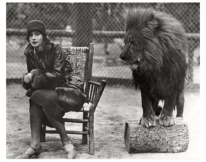 Greta Garbo Leo the Lion