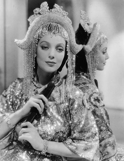 "Loretta Young in ""Shanghai"" (1935). Bizarre Los Angeles"
