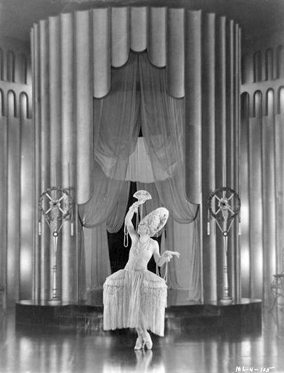 "Mae Murray in a scene from ""Jazzmania"" (1923). Bizarre Los Angeles"