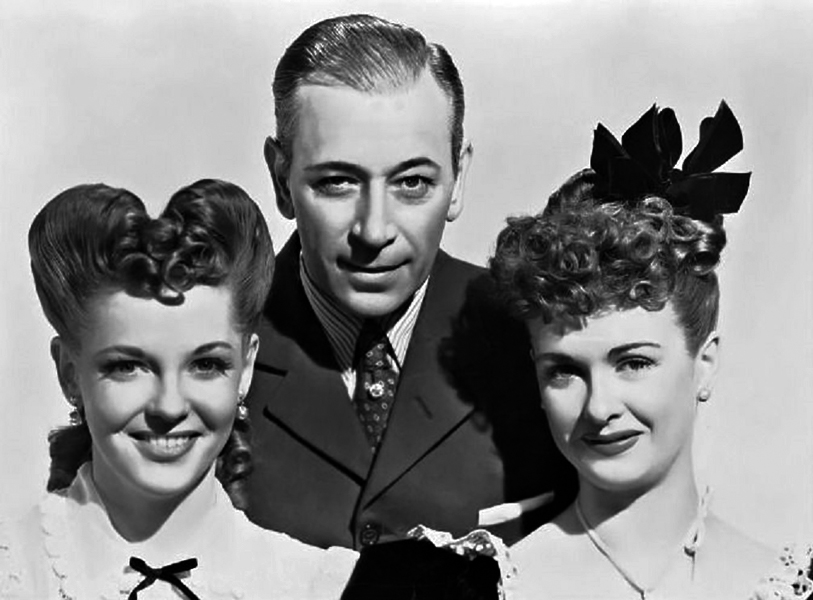 """I refused to appear in a picture – 'Nob Hill' – with Vivian Blaine and George Raft. The head of production said if I didn't do the picture my next assignment would be a Laurel and Hardy film."" — Joan Bennett (Bizarre Los Angeles)"