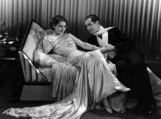 Norma Shearer and Robert Montgomery. (Bizarre Los Angeles)