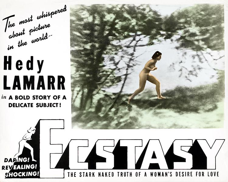 Hedy Lamarr Ecstacy 1940