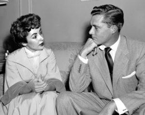 Elizabeth Taylor Conrad Hilton Jr 1951
