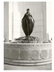 Ambassador Hotel Fountain Statue