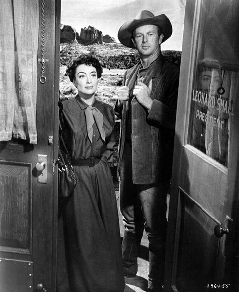 Johnny Guitar Sterling Hayden Joan Crawford