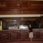 The Los Angeles Ambassador Hotel's Registration Desk, c. 2005. (Bizarre Los Angeles)