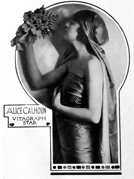 """""""I can't work unless I am allowed to do it my way. I tell my director the first moment I see him that my methods are my own and that I'm not going to copy his. Then I work!"""" -- Alice Calhoun (Bizarre Los Angeles)"""
