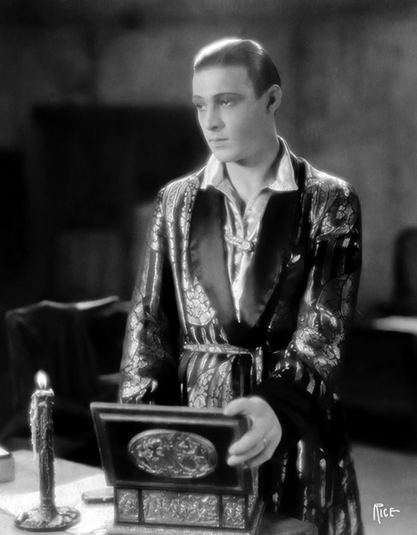 "Rudolph Valentino ""The Conquering Power"" (1921). Bizarre Los Angeles"