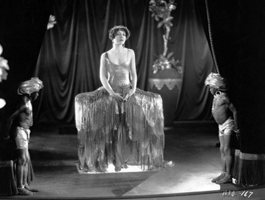 """Esther Ralston in """"Fashions for Women"""" (1927). Bizarre Los Angeles"""
