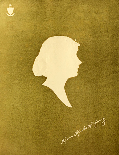 Clara Kimball Young silhouette (Bizarre Los Angeles)