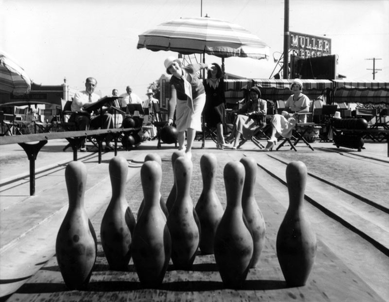 Out-of-Door Bowling Alley 1931