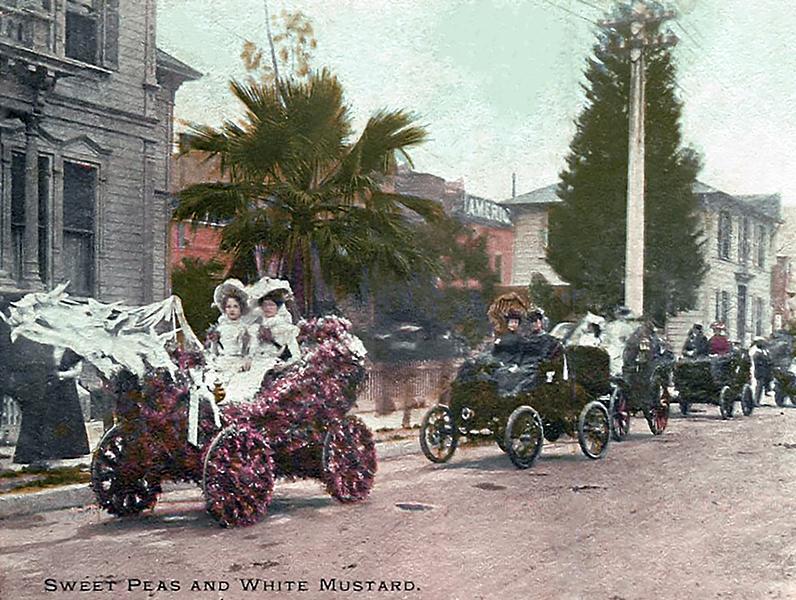 La Fiesta Parade 1901