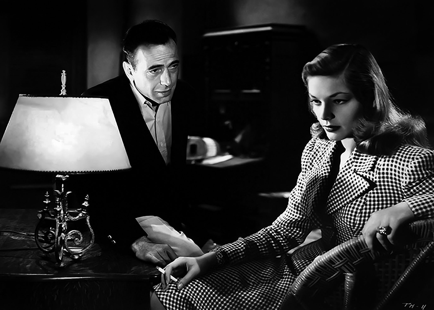 Humphrey Bogart Lauren Bacall To Have and Have Not 1944