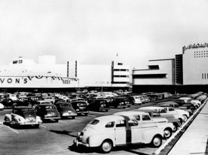 Crenshaw Shopping Center 1950 VONS GROCERY STORE LOS ANGELES