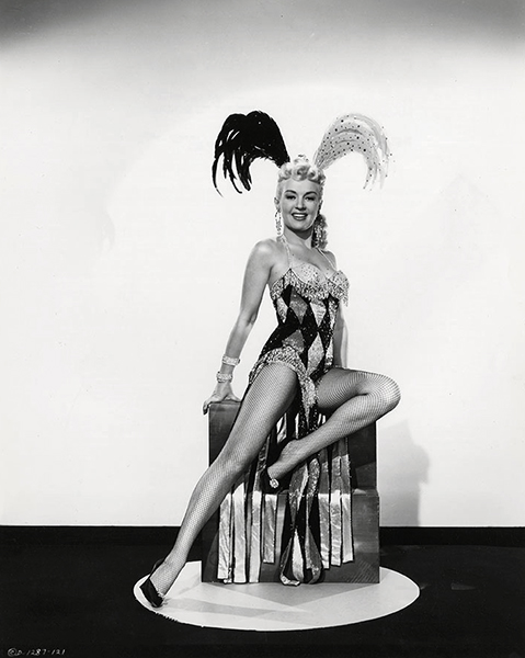 Betty Grable 1954