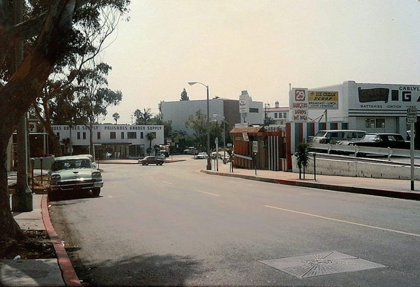 1964 Pacific Palisades Street Scene Alma Real Dr & La Cruz Dr copy