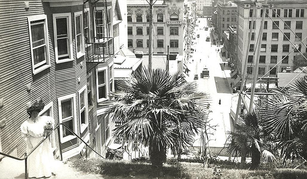 Los T Angeles Bunker Hill Bizarre Los Angeles