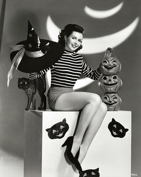 Ann Miller cheesecake Halloween