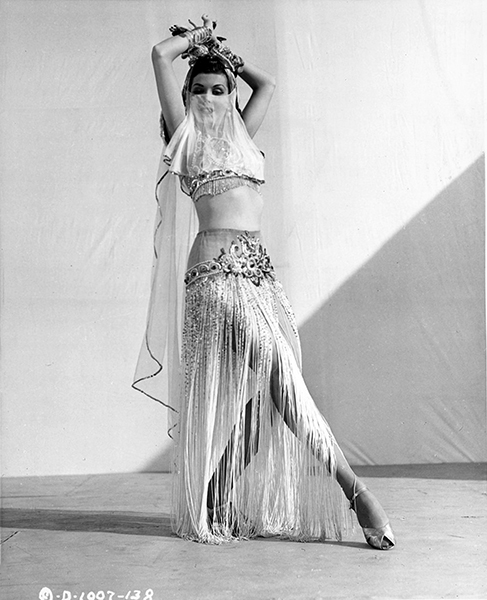 """I was born with a veil over my face and I'm very psychic."" -- Ann Miller (Bizarre Los Angeles)"