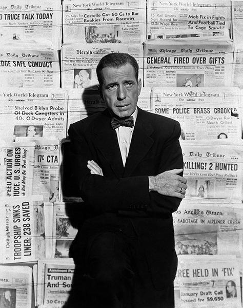 Humphrey Bogart publicity Deadline USA
