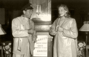 Humphrey BogartandLauren Bacallat theHotel del Coronadoin 1948. (Bizarre Los Angeles)