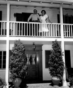 Gene Autry home candid