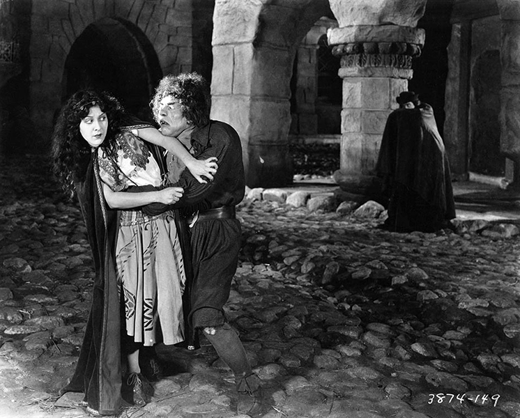 """The role of the hunchback in 'The Hunchback of Notre Dame' was more a matter of makeup. It required several hours to put on the makeup but the acting called for less physical discomfort although I was forced to keep my body distorted and at an uncomfortable position."" -- Lon Chaney (Bizarre Los Angeles)"
