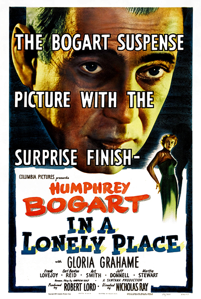 In a Lonely Place 1950 Humphrey Bogart Gloria Grahame