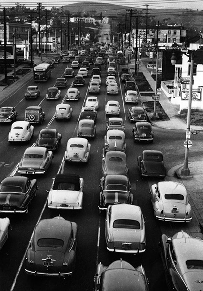 Traffic Jam 1950