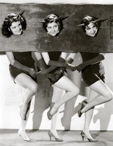 Lillian Roth, Marion Shilling and Rosita Moreno (Bizarre Los Angeles)