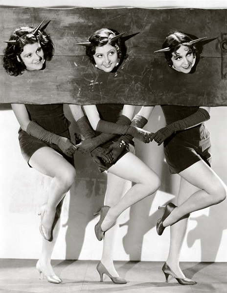 Lillian Roth, Marion Shilling and Rosita Moreno (Bizarre Los Angeles)