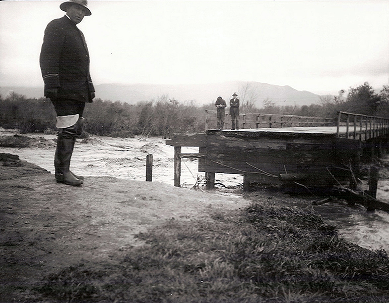 Los Angeles River flood 1938