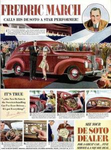 Fredric March Ad (Bizarre Los Angeles)