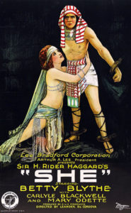 She Poster 1925