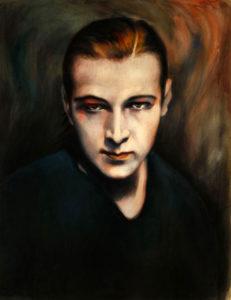 Rudolph Valentino portrait