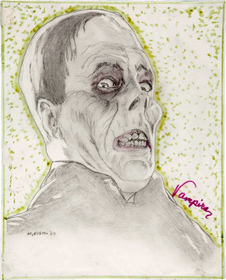 Lon Chaney painting