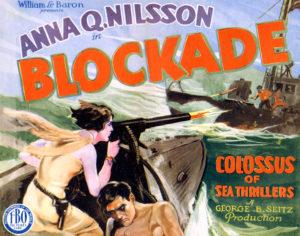 Blockade 1928 Anna Q Nilsson