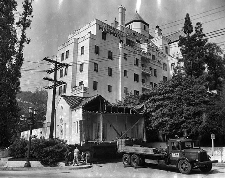 Chateau Marmont Traffic jam