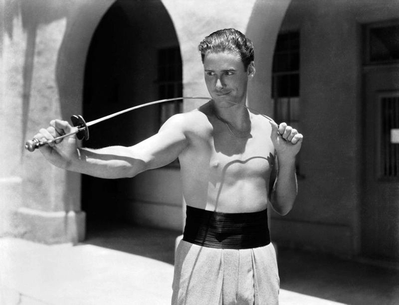 """""""The studio, you know, always build up a star in one way or another. Because of my earlier experiences they decided to build me as the adventurous type."""" -- Errol Flynn (Bizarre Los Angeles)"""