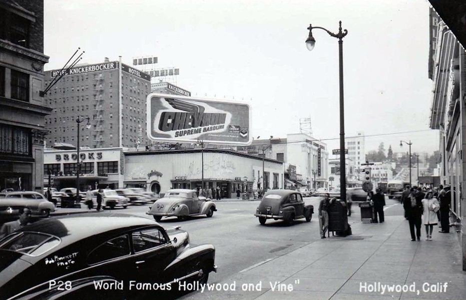 Hollywood and Vine 1950s