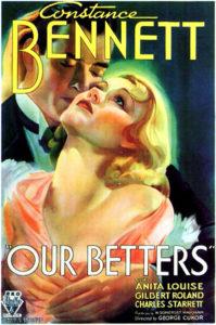 Constance Bennett Charles Starett Our Betters 1933