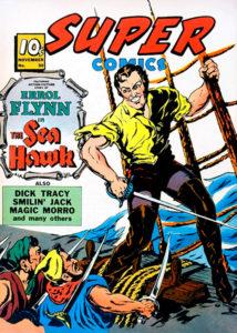 Errol Flynn comic book