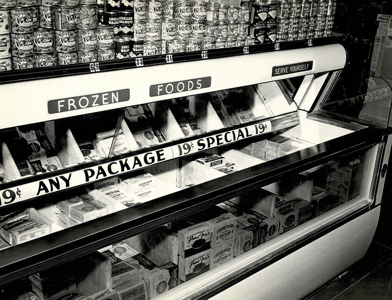 Von's supermarket 1950