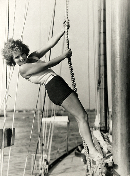 Clara Bow ghost story 1929