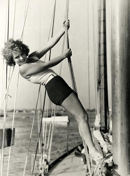 Clara Bow ghost story 1929