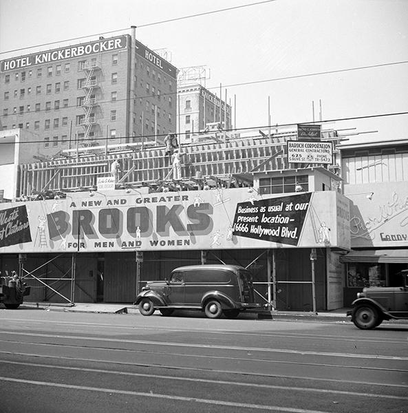 Hollywood Vine 1940s